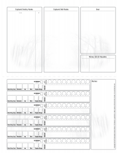 character sheet back